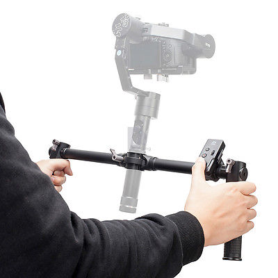 Zhiyun-Dual-Handheld-Grip-With-ZW-B02-Wireles-Remote