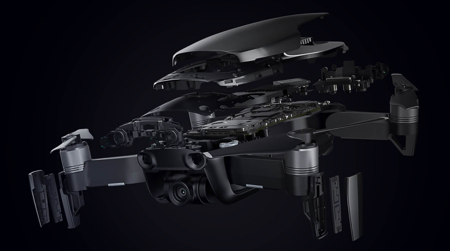 11 - DJI Mavic AIR Arctic White