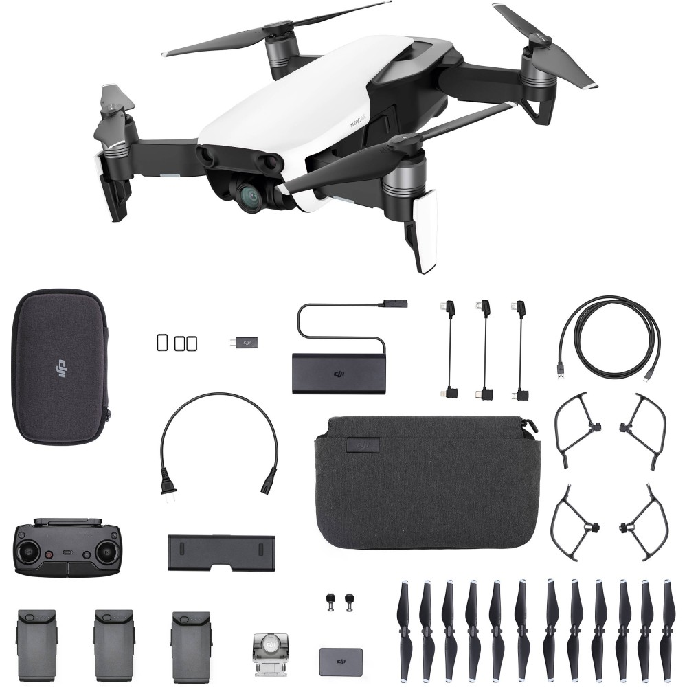 1 - DJI Mavic AIR Fly More Combo Arctic White